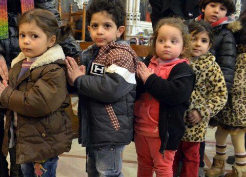 crianças síria